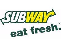 Sandwich Artist @Subway Applegreen