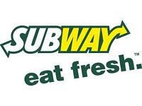 Subway Grangetown, Cardiff - Part Time/Full Time In Store Vacancies