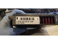 Mercedes W140 S500 1995 Basic Control Module 0145453632