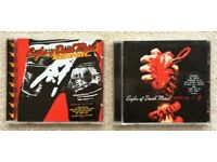 EAGLES OF DEATH METAL CD HEART ON & DEATH BY SEXY ALBUM LP JOSH HOMME QUEENS OF THE STONE AGE GROHL