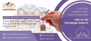simplify your Mortgage Search for 1st / 2nd Mortgages., BadCredit , NOJOB, New Comer, Bank denied closing -647-291-7116