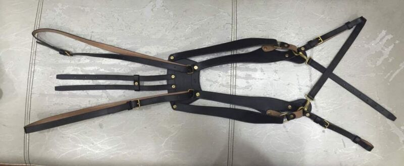 1874 Palmer Brace For Infantry / Indian Wars / Leather