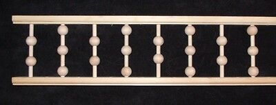 "Victorian Gingerbread Porch Spandrel Trim ~ 6.5"" Tall BALL SPINDLES ~ by PLD"
