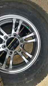 New 205 and 225 75 15 trailer tires on ALUMINUM ALLOY rims