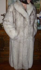 Saga Blue Fox Fur Coat
