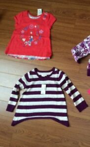 New with tag/ never worn girls 2T tops
