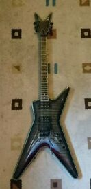 Dean ML ATF 3000 Floyd Rose Arch Top (rare, mint condition).