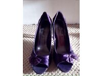 NEW LOOK PURPLE SHOES SIZE 5