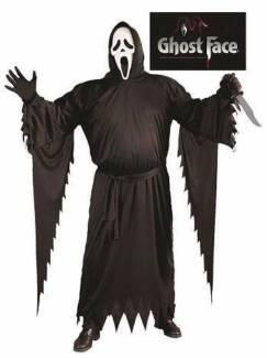 SCREAM GHOST FACE COSTUME - ADULT PLUS