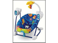 Baby swing Fisher price used