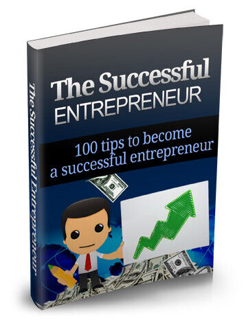 The Successful Entrepreneur-100 Tips eBook PDF Resell Rights + 10 Free Ebooks