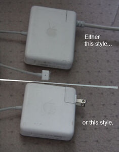 I want your old, broken Mac loptop power adapters!