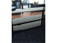 Black glass tv stand - for up to 50inch tv