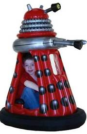 Dalek drive able: 4ft 6ins tall