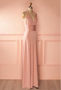 Pink Infinity dress (1861) never used (bridesmaid)