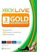 Xbox Live 3 Month