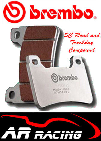 Brembo SC Road/Track Front Brake Pads To Fit MV Agusta 675 F3 2011-On