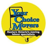 Your Choice Movers - Eastern Ontario's Moving Labour Specialists