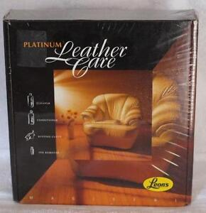 Platinum Leather Care Kit (New)