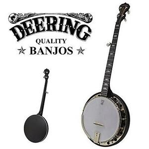 NEW DEERING BANJO 5 STRING BANJO DEERING GOODTIME MIDNIGHT SPECIAL 5-STRING BANJO - MUSIC INSTRUMENT STRINGS 106466420