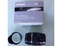 Tamron 18-270mm F/3.5-6.3 Di II VC PZD Zoom Lens