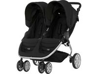 Double buggy - almost brand new!!