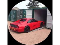 Classic, Sports & Prestige Secure Car Storage (All inclusive price - No VAT to pay)