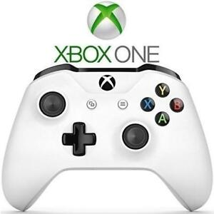 RFB XBOX ONE WIRELESS CONTROLLER 1708 208375783 BLUETOOTH WHITE VIDEO GAMES REFURBISHED
