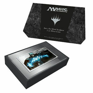 2014 1 oz SILVER COIN Magic the Gathering Jace the Mind Sculptor