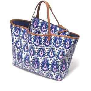 Reversible Tote with matching Clutch