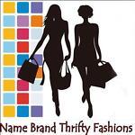 NAME BRAND THRIFTY FASHIONS