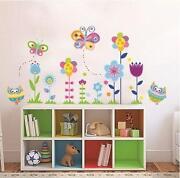 Abziehbilder Blumen