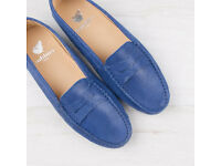 Blue Loafers, French Brand, Size 5.5