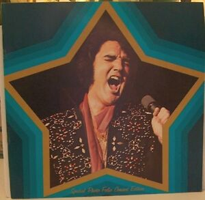 Elvis Presley Collection of Vintage Records + Picture Portfolio