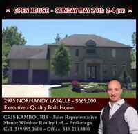 OPEN HOUSE THIS SUNDAY 2-4 PM - 2975 NORMANDY - $669,000