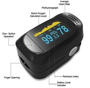 MedXotic Deluxe Fingertip Pulse Oximeter Blood Oxygen Saturation