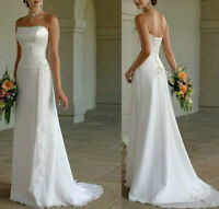 Clearance Simple Wedding Dress