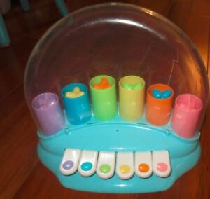 piano pop-up musical baby toy