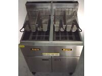 Anets 2 Pan 2 Basket Gas Fryer Hire/Buy over 4 Months using Easy Payments