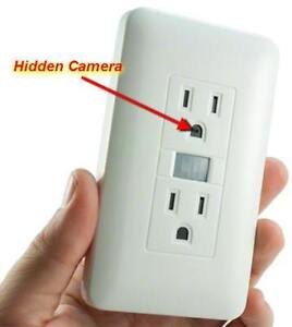 Wifi Outlet Hidden Camera with Motion and PIR / 3-7 Days Battery