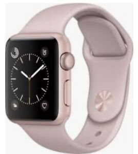 Used Rose gold iwatch series 2.