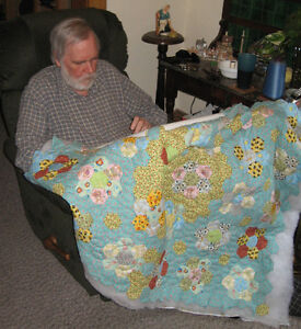 Handsewn Lap Quilts / Baby Quilts  by Steve Meek of Peterborough Peterborough Peterborough Area image 3