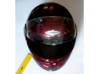 Caberg full face Motorbike Crash Helmet - Large