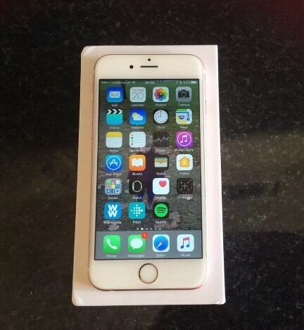 iPhone 6s 64gb ROSE GOLD/EXCELLENT CONDITIONin London Bridge, LondonGumtree - IPHONE 6s 64gb IN IMMACULATE CONDITION LOCKED ON VODAFONE/LEBARA/VECTONE/TALKTALK UNLOCKING HAS BEEN APPLIED PLEASE CHECK 3rd PHOTO. COMES BOXED WITH CHARGER AND 4 MONTHS OF APPLE WARRANTY I offer u to meet me and check the phone for as long as you...