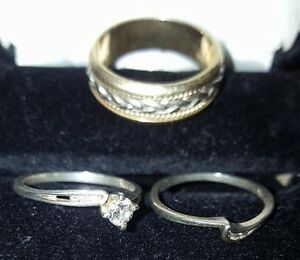 Wedding rings both his and hers for entire package!