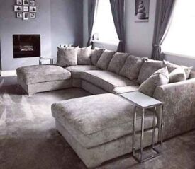 FREE DELIVERY ON BRAND NEW U SHAPE CORNER SOFA AVAILABLE IN DIFFERENT COLOURS ORDER NOW