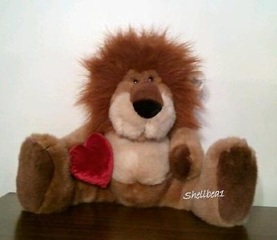 Russ Maximilian The Lion Plush Stuffed Zoo Jungle Animal Toy Doll Rare W/tag