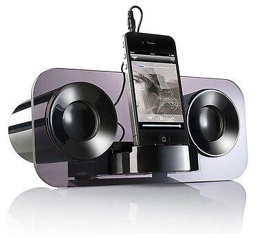 auvisio Lautsprecher MSS-222 Smartphone Handy MP3-Player Dockingstation Klinke Handy Mp3 Lautsprecher