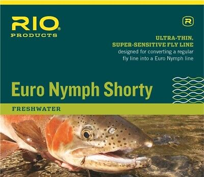 Rio EURO NYMPH SHORTY fly line 20FT #2-#5 one (Euro Lines)