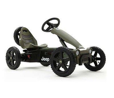 BERG Jeep Adventure Style Children's Pedal Go-kart